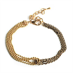 preiswerte Armbänder-Damen Ketten- & Glieder-Armbänder - Armbänder Kaffee / Grün Für Party Alltag Normal