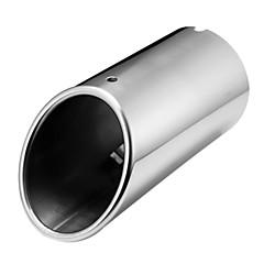 お買い得  排気システム-アウディA4 B8 1.8トンの2.0トン2009年から2016年のためのクロームマフラーエキゾーストテールパイプの先端