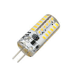 abordables Ampoules LED-2W 100-200 lm G4 Ampoules Maïs LED T 48 diodes électroluminescentes SMD 3014 Blanc Chaud AC 12V