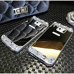 For Samsung Galaxy Note Rhinsten Belægning Etui Bagcover Etui Glitterskin Akryl for Samsung Note 5 Note 4