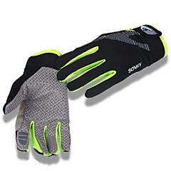 tanie Rękawiczki na rower-Rękawiczki sportowe Rękawiczki rowerowe Ultraviolet Resistant Oddychający Antypoślizg Ochronne Filtr przeciwsłoneczny Redukuje odparzenia