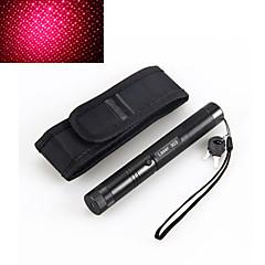 2in1 303 5mW 650nm rød vandtæt høj effekt laserpointer justerbar hylster