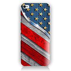 Mert iPhone 5 tok Minta Case Hátlap Case Zászló Kemény PC iPhone SE/5s/5
