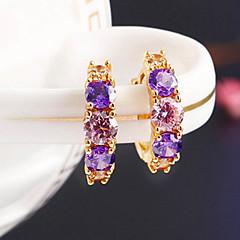 billige Hoop Øreringe-Dame Stangøreringe Store øreringe kostume smykker Smykker Smykker Til