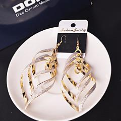 preiswerte Ohrringe-Damen Quaste Tropfen-Ohrringe - Personalisiert, Europäisch, Erklärung Silber / Golden Für Hochzeit / Party / Besondere Anlässe