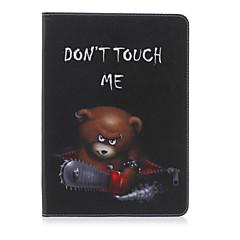 olcso Galaxy Tab 4 10.1 tokok-Mert Samsung Galaxy tok tokok Kártyatartó Pénztárca Állvánnyal Flip Minta Teljes védelem Case Szó / bölcselet Műbőr mert SamsungTab 4