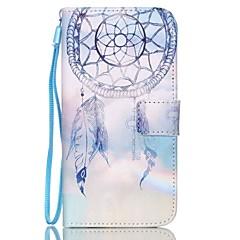 olcso Galaxy S4 Mini tokok-Case Kompatibilitás Samsung Galaxy Samsung Galaxy tok Kártyatartó Pénztárca Állvánnyal Flip Héjtok Álomfogó PU bőr mert S6 edge plus S6