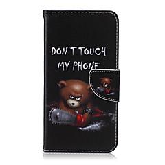 voordelige Galaxy S3 Mini Hoesjes / covers-Voor Samsung Galaxy hoesje Portemonnee / Kaarthouder / met standaard / Flip hoesje Volledige behuizing hoesje Cartoon PU-leer SamsungS6