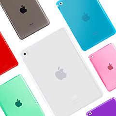 billige Etuier / Covers Til iPad Air 2-Etui Til iPad Air 2 Transparent Bagcover Helfarve Silikone for iPad Air 2