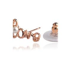 preiswerte Ohrringe-Damen Kristall Ohrstecker Ohr-Stulpen - Krystall, versilbert, vergoldet Liebe Erste Schmuck Silber / Golden Für Party Alltag Normal