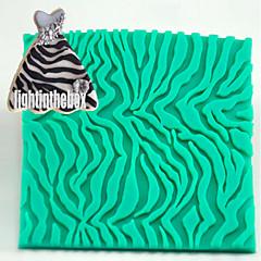 Streifen Leopard Druck Textur Korn Druck Backen diy Silikon Schokolade Zucker Kuchen Schimmel Farbe zufällig