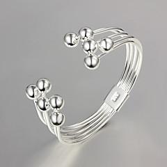 ieftine Brățări-Pentru femei Χάντρες Brățări Bangle - Plastic femei, Design Unic, Modă Brățări Bijuterii Argintiu Pentru Nuntă Petrecere Zilnic Casual