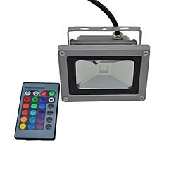 Focos LED 1 LED Integrado 440lm lm RGB RGB K Impermeable Control Remoto AC 85-265 V
