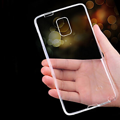 billige Galaxy Note 3 Etuier-Etui Til Samsung Galaxy Samsung Galaxy Note Ultratyndt Transparent Bagcover Helfarve TPU for Note 5 Note 4 Note 3