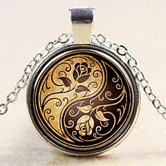 preiswerte Halsketten-Anhänger  -  Sterling Silber Modisch Silber, Bronze Modische Halsketten Für Hochzeit, Party, Alltag