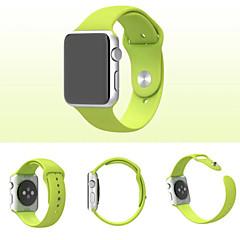 voordelige Apple Watch-bandjes-Horlogeband voor Apple Watch Series 3 / 2 / 1 Apple Polsband Sportband Silicone