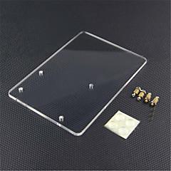 お買い得  アクセサリー-Arduinoの宇野r3のためのアクリル実験プラットフォームプレート - 透明