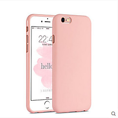 billige Etuier til iPhone 5S/SE-Etui Til Apple iPhone 6 iPhone 6 Plus Andet Bagcover Helfarve Blødt Silikone for iPhone 6s Plus iPhone 6s iPhone 6 Plus iPhone 6 iPhone