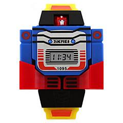 お買い得  レディース腕時計-リストウォッチ デジタル カレンダー シリコーン バンド デジタル チャーム ファッション ブルー / レッド / グレー - イエロー レッド ブルー 2年 電池寿命 / Maxell626 + 2025