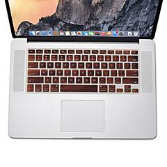 お買い得  MAC 用キーボード カバー-MacBook Airの13.3用の木のパターン設計シリコーンキーボードカバー皮、網膜13 15 17私たちのレイアウトでのMacBook Pro