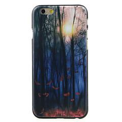 Для Кейс для iPhone 6 / Кейс для iPhone 6 Plus С узором Кейс для Задняя крышка Кейс для дерево Твердый PCiPhone 6s Plus/6 Plus / iPhone
