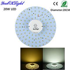 tanie Oświetlenie sufitowe LED-Oświetlenie sufitowe 100 Diody lED SMD 2835 Sensor Dekoracyjna Ciepła biel Zimna biel 1800lm 3000/6000K AC 220-240 AC 110-130V