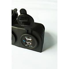 Недорогие Автоэлектроника-lossmann двойной USB автомобильное зарядное устройство адаптер питания и разъем питания