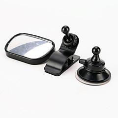 自動車調節可能なベビーミラーに1 /カーリア赤ちゃんの安全凸面鏡でミニ車の赤ちゃんのビューミラー2をiztoss