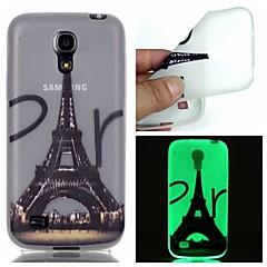 Για Samsung Galaxy Θήκη Λάμπει στο σκοτάδι tok Πίσω Κάλυμμα tok Πύργος του Άιφελ TPU Samsung S6 edge plus / S6 / S5 / S4 Mini / S3