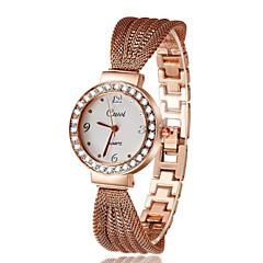 Dámské Módní hodinky Křemenný Kapela Stříbro Zlatá Růžové zlato Bílá Zlatá Růžové zlato