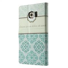 abordables Galaxy S3 Mini Carcasas / Fundas-Funda Para Samsung Galaxy Funda Samsung Galaxy Soporte de Coche Cartera con Soporte Flip Funda de Cuerpo Entero Flor Cuero de PU para S8