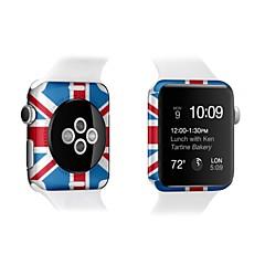 por delante de la manzana reloj iWatch 38mm colorido protector de pantalla de 42 mm y el protector de la pantalla de nuevo