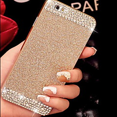 cheap iPhone Cases-Solid Luxury Bling Glitter Back Cover Case with Diamond for iPhone 5/5S(Assorted Colors)