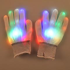 Ystävänpäivä lahja luova värikäs flash käsineet Palm valoisa katutanssilajien rekvisiitta lamppu valo led