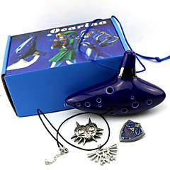 olcso Állat jelmezek-Még több kiegészítő Ihlette Zelda legendája Szerepjáték Anime/Videójátékok Szerepjáték Kiegészítők Még több kiegészítő Tintakék Férfi / Nő