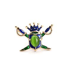 Женский Драгоценный камень Эмаль Опал Сплав Зеленый Бижутерия Свадьба Для вечеринок Повседневные Спорт