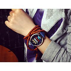 preiswerte Armbanduhren für Paare-Damen Modeuhr Armbanduhren für den Alltag Plastic Band Schwarz / Weiß / Blau