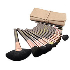 20 Brush Sets Minkhårs Børste Ponybørste Børstehårs Børste Hest Gedehårs Børste Egern Børste Ansigt Læbe Øjne MAKE-UP FOR YOU