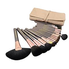 Χαμηλού Κόστους Makeup Brushes-Επαγγελματικό Υψηλής Ποιότητας Σετ με 20 τμχ Πινέλα Μακιγιάζ από Τρίχα Κατσίκας με Θήκη (3 Χρώματα)