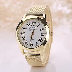 お買い得  メンズ腕時計-Geneva 男性用 女性用 クォーツ リストウォッチ カジュアルウォッチ ステンレス バンド ボヘミアンスタイル ファッション シルバー ゴールド