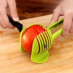 abordables Utensilios para frutas y verduras-herramienta de cocina casera de la novedad diy plástica herramientas de la ensalada del cortador y del cortador del huevo de la fruta de la verdura