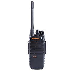 olcso Walkie Talkies-baiston BST-508 professzionális szuper teljesítmény vízálló ütésálló 6W walkie talkie - fekete