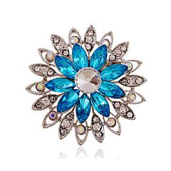 Dames Acryl Strass Keramiek imitatie Diamond Legering Modieus Paars Koffie Blauw Sieraden Bruiloft Feest Dagelijks