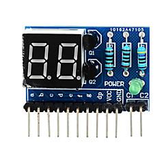 """billige Moduler-2-cifret fælles anode 0,36 """"digitale display modul til Arduino + hindbær pi - blå"""