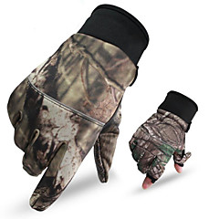 Unisex Mănuși Sporturi de Agrement Keep Warm / Purtabil / Anti-derapare Primăvara / Toamnă / Iarnă Camuflaj-Sporturi-M / L / XL