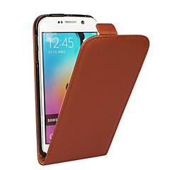 billige Galaxy S3 Mini Etuier-Etui Til Samsung Galaxy Samsung Galaxy etui Flip Fuldt etui Helfarve PU Læder for S5 Mini S4 Mini S3 Mini