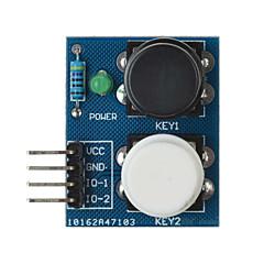 2-riippumatonta kosketuksen painiketta moduuli anturi arduino + vadelma pi - sininen