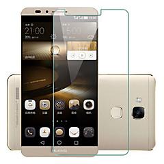 voordelige Screenprotectors voor Huawei-explosieveilige premium gehard glas filmdoek beschermkap 0,3 mm gehard membraan boog voor Huawei mate 7