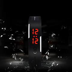 お買い得  メンズ腕時計-男性用 スポーツウォッチ デジタル タッチスクリーン LED シリコーン バンド デジタル チャーム ファッション 多色 - グリーン ピンク ライトブルー 1年間 電池寿命 / SODA AG4
