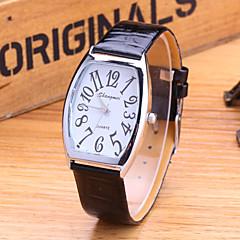 Men's Fashion Watch Fashion Korean Version Of The Trend Is Still Retro PU Band Quartz Watch Wrist Watch Cool Watch Unique Watch